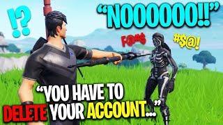 Loser Has To DELETE Fortnite Account..