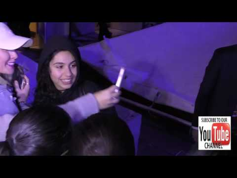 Alessia Cara outside the Jingle Ball at Staples Center in Los Angeles