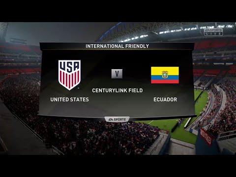 FIFA 19 USA VS ECUADOR @ THE CENTURYLINK FIELD