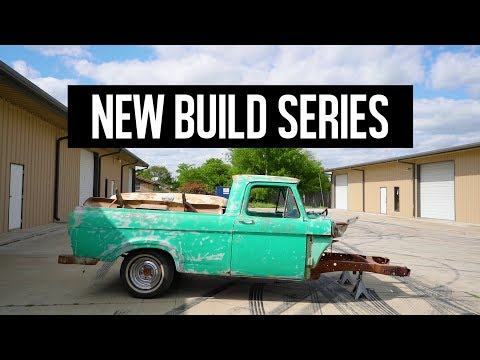 1961 F100 Unibody Build Series Intro