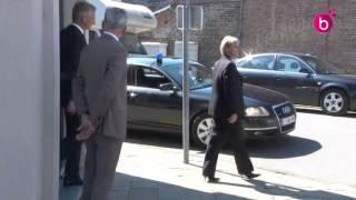Le roi Philippe a salué la dépouille de Jean-Luc Dehaene