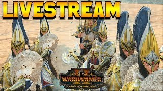 [Live Stream] Rainy Day Quick Battles + Lore Q&A |  Total War: Warhammer 2