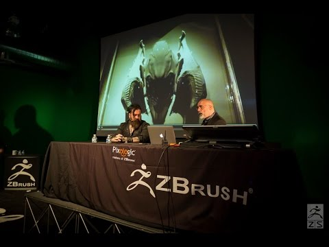 Official ZBrush SUMMIT 2015 Presentation - Neville Page & Gl