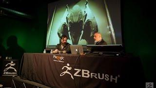 Official ZBrush SUMMIT 2015 Presentation - Neville Page & Glenn Hetrick