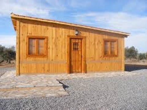 Como construir una casa de madera sencilla youtube for Casas para construir
