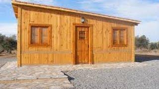 como construir una casa de madera sencilla