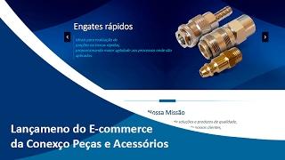 Lançamento oficial do E-commerce da Conexo Peças e Acesórios