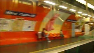 Station Havre Caumartin Ligne 10 du métro à Paris