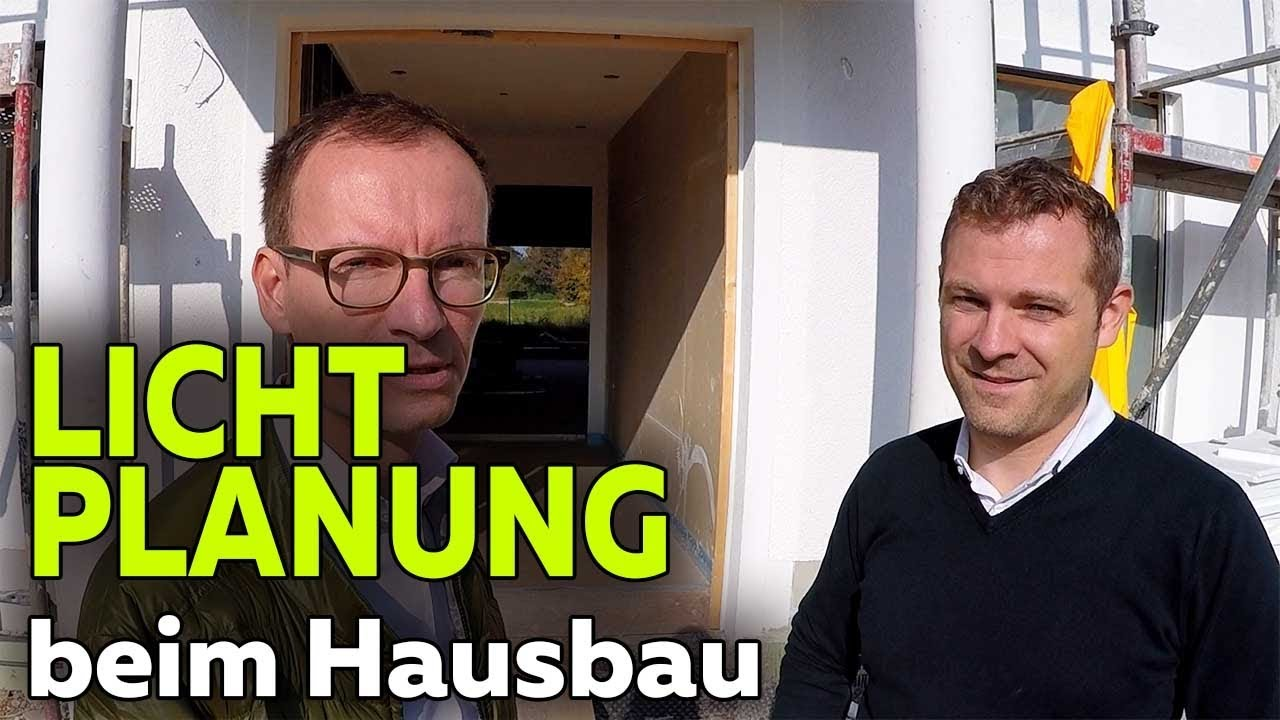 Hausbau Lichtplanung smartest home hausbau led lichtplanung beleuchtung folge 10