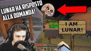 LUNAR HA RISPOSTO ALLA NOSTRA DOMANDA!!! (INCREDIBILE) - Minecraft ITA