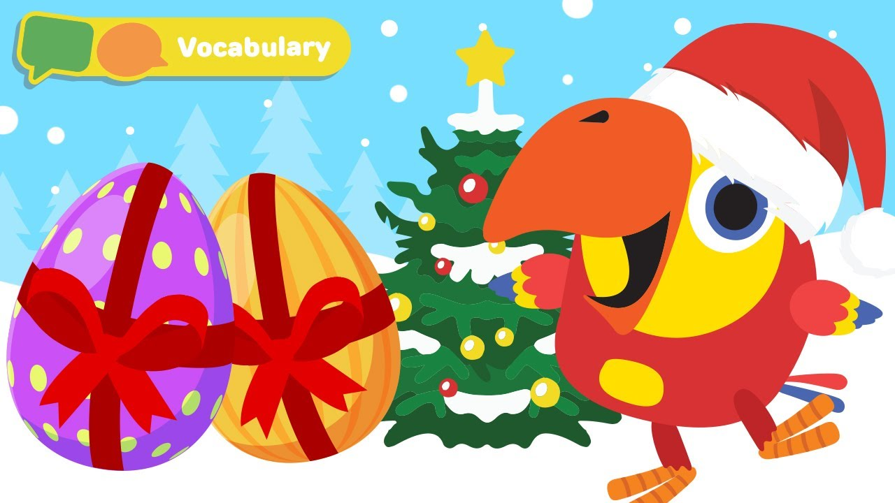 Christmas Time | Learn First Words w Larry The Bird ...
