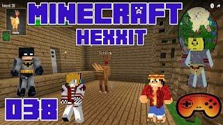 Minecraft Hexxit #038 Talk über Spiele - Let