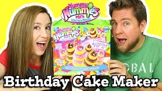 Yummy Nummies Birthday Cake Maker
