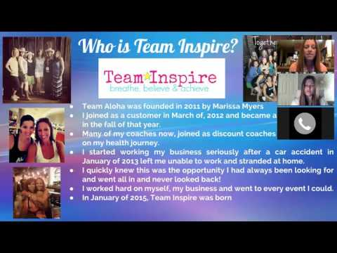 Team Inspire LIVE Curiosity Webinar
