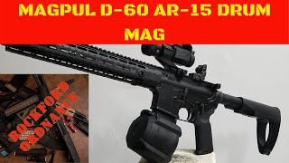 MAGPUL D-60 PMAG AR-15 DRUM MAG