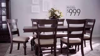 Juego De Comedor Riverdale | Bobu0027s Discount Furniture
