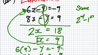 Maths for Science | 1819 Intake 1 | Lesson | Degree Two Systems