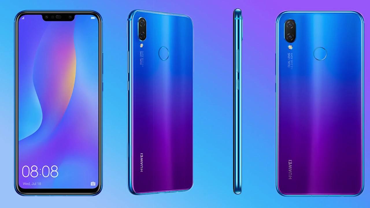 هاتف هواوي الجديد Huawei Nova 3i Youtube