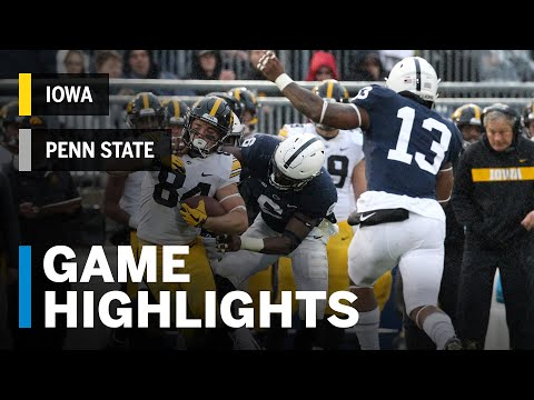 Highlights: Iowa Hawkeyes vs. Penn State Nittany Lions - Highlights | Big Ten Football