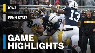Highlights: Iowa Hawkeyes vs. Penn State Nittany Lions - Highlights | Big Ten Football