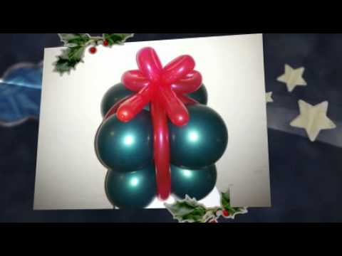 christmas balloon art decor - Christmas Balloon Decor