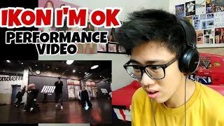 IKON - I'M OK PERFORMANCE VIDEO REACTION