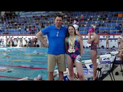 видео: Жданова Ульяна Первенство России 1-е место 100-брасс