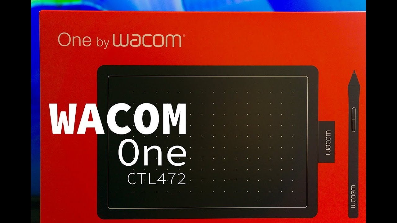 Wacom One CTL 472 Tablet Unboxing First Time