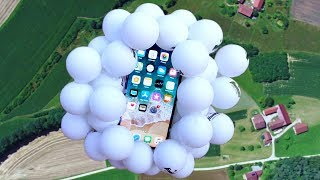 Can Ping Pong Balls Protect iPhone X from 400 FT Drop Test?