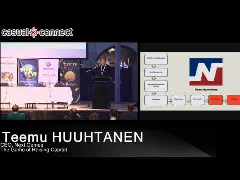 The Game of Raising Capital | Teemu HUUHTANEN