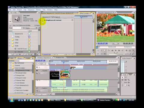 Adobe Premiere CS3 - 27 of 33 - Adding Video Effects