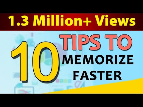 How To Memorize Fast and Easily | 10 Important Tips & Tricks | Letstute
