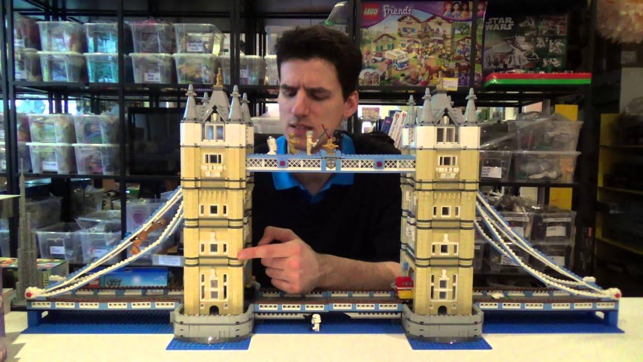 lego advanced models 10214 tower bridge youtube. Black Bedroom Furniture Sets. Home Design Ideas