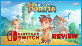 My Time at Portia Switch Review (Video Game Video Review)