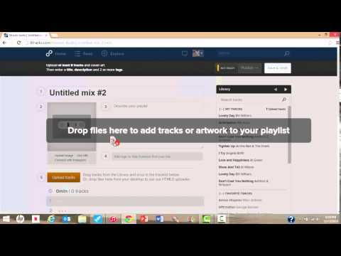 How to create your own 8tracks playlist