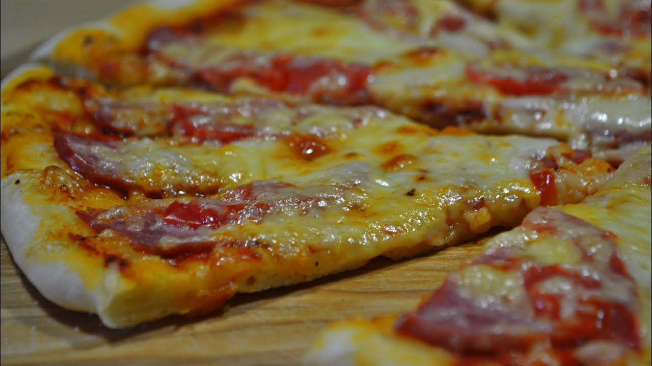 Рецепт тесто для пиццы в домашних условиях