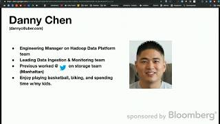 Ubers Big Data Platform - Mariagegironde