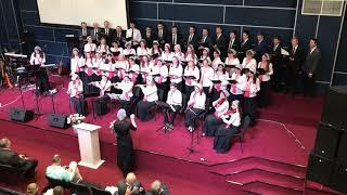 «Небо красивое» сводный хор нескольких церквей