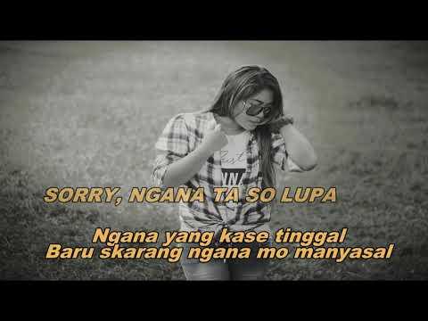 "Vonda Pandean - ""Ngana Ta So Lupa"" Lagu Pop Manado Terbaru.  Beat_UNG (Official Video Lirik)"