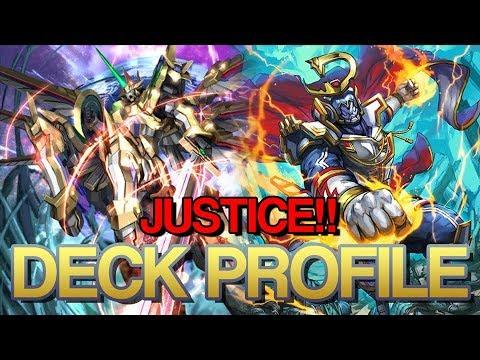 SUPAH JUSTICE - COSMIC HEROES DECK PROFILE