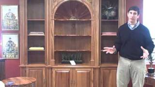 Furniture Spotlight: Harden Natural Cherry Display Cabinet - Piece Of The Week