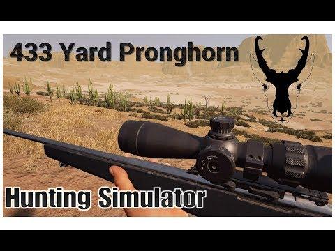 Hunting Simulator | 433 Yard Pronghorn