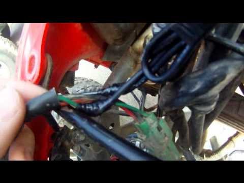 110 Atv Wire Harness How To Install A Tusk Atv Kill Switch Youtube