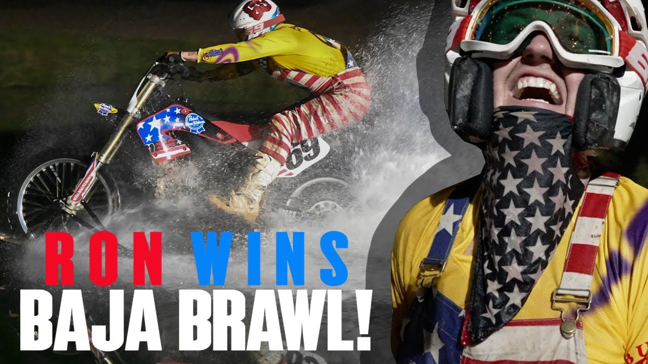 Ron Wins Baja Brawl