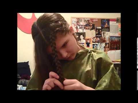 Princess Leia Endor Hair Tutorial Re Uploaded Youtube