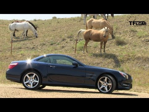 2013 Mercedes-Benz SL550 Roadster Review & Drive