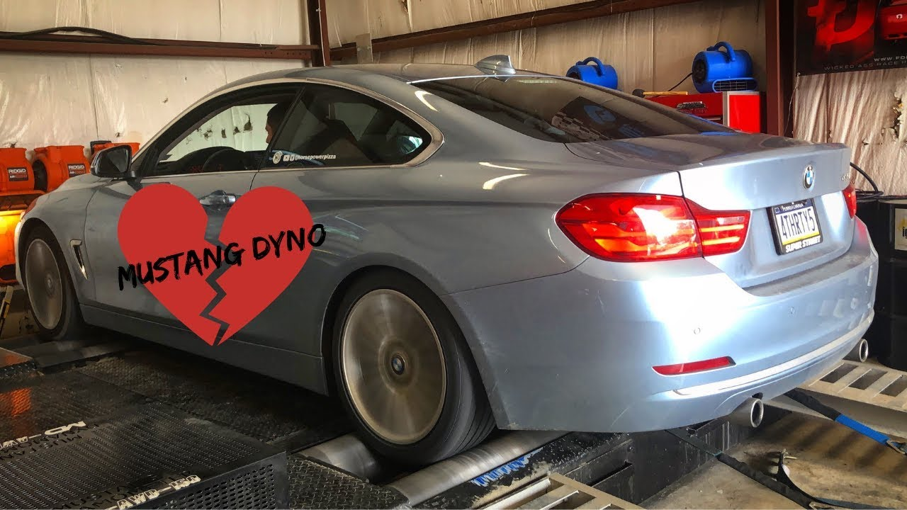 Stock BMW 435i on the Dyno (N55)
