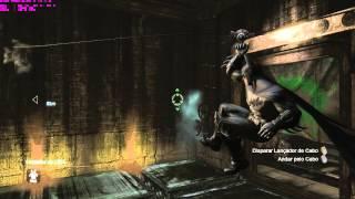 Batman Arkham City - O que começa com um tique e termina com um choque (Charada)
