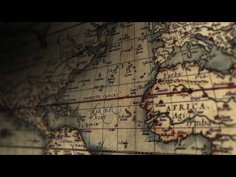 Old World Vintage Maps - Stock Footage