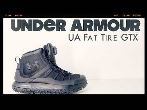 Under Armour | UA Fat Tire GORE-TEX | The Boot Guy Reviews